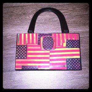 Flag purse